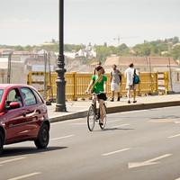 Margit híd - nyomokban kerékpárokat tartalmaz