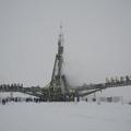 A szakadó hó sem állíthatta meg a Szojuz TMA-22-t