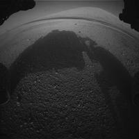 Nap képe, először: Curiosity a Marson