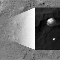 Nap képe, másodszor: ereszkedő Curiosity