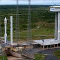 Nap képe: a starthelyen áll a Vega, a MaSat-1 rakétája