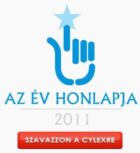 Az év honlapja a CYLEX Tudakozó