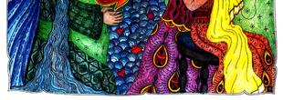 Mese Jáva szigetéről / Illustration of a fairytale from Java