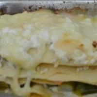 Spárgás zöldséges lasagne