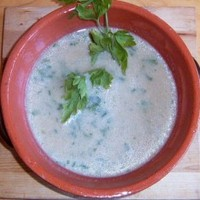 Currys, kókusztejes karfiolkrémleves