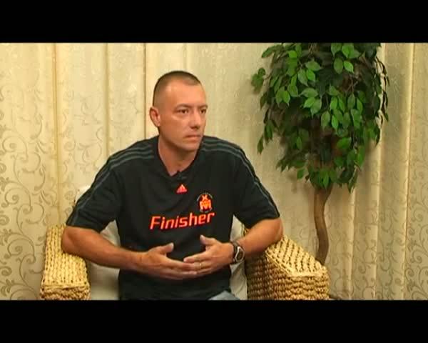 """Keller Elek """"IRONMAN"""" riportja a Ladány Tv-ben"""
