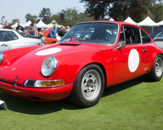 Veterán Porsche-találkozó Kaliforniában