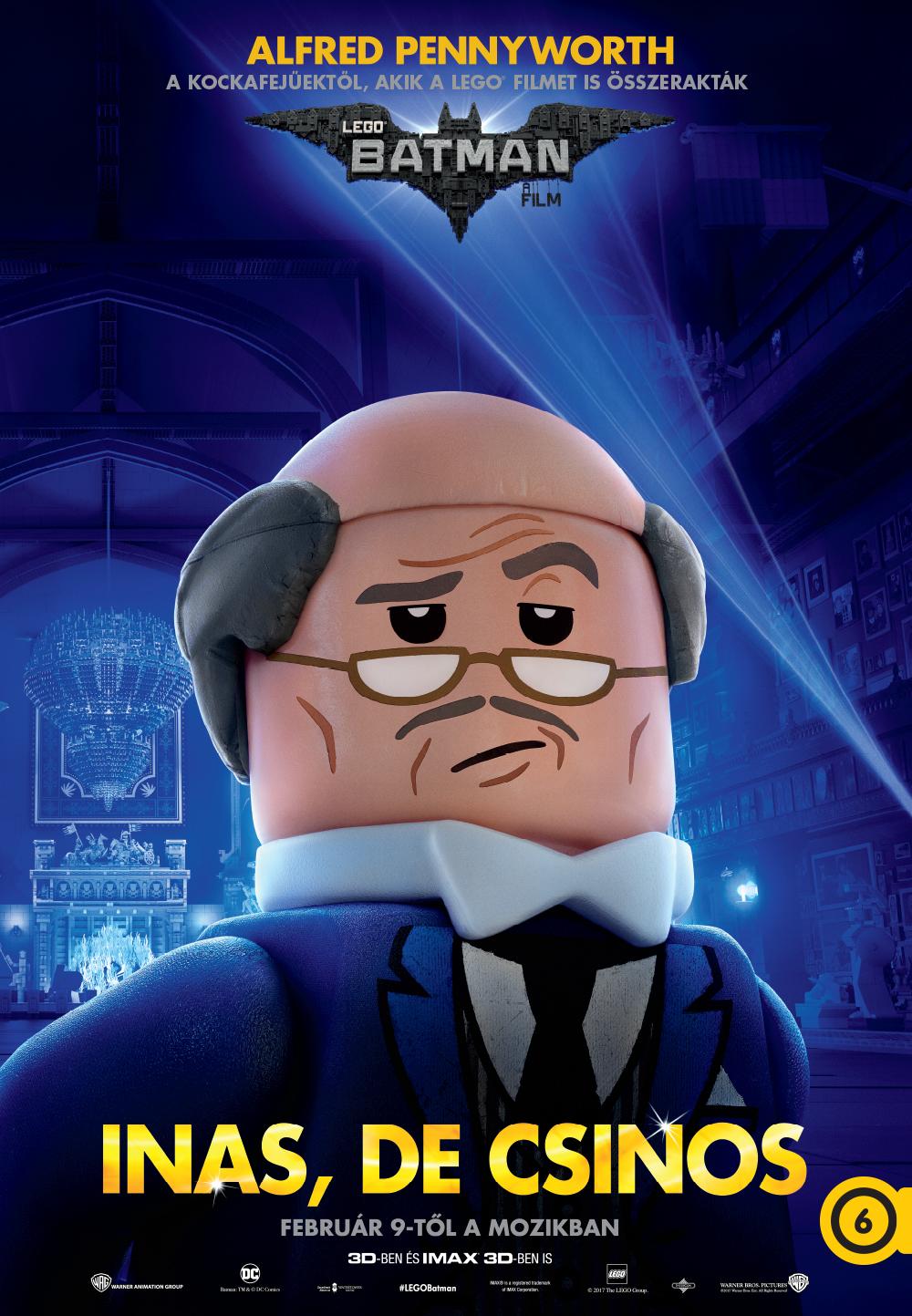 Alfred Pennyworth (Ralph Fiennes, magyar hangja Borbély László)