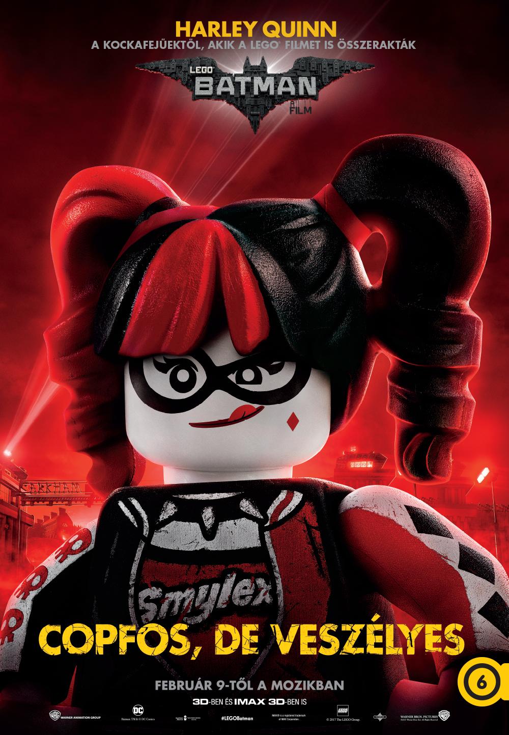Harley Quinn (Jenny Slate, magyar hangja Jordán Adél)