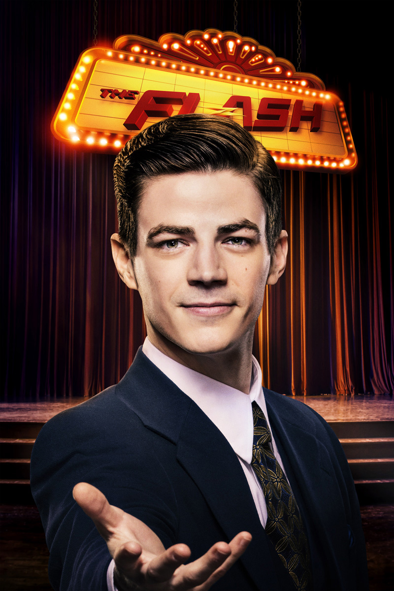 Grant Gustin, mint Barry Allen (avagy Flash)