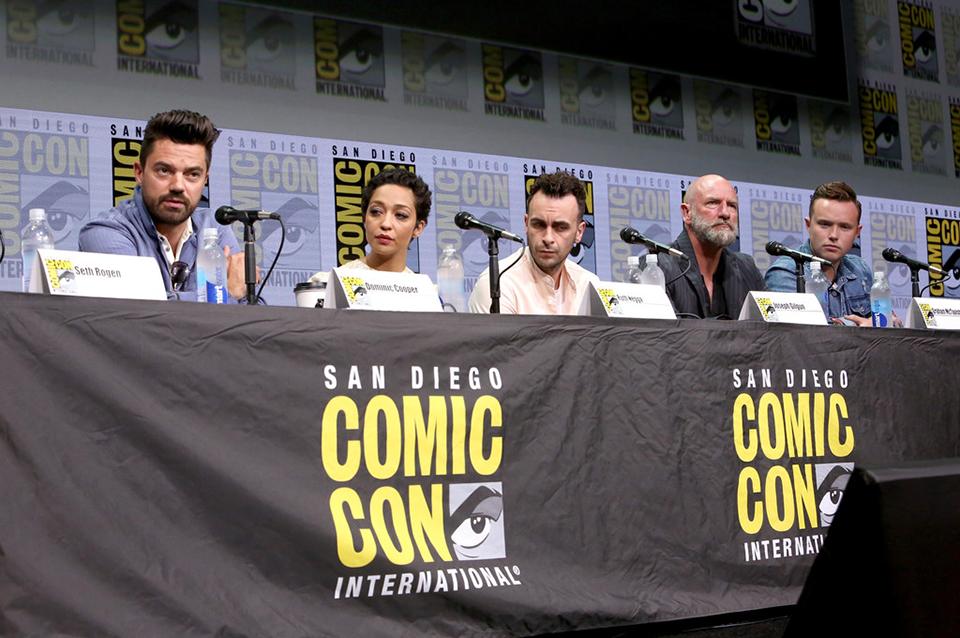 Dominic Cooper, Ruth Negga, Joseph Gilgun, Graham McTavish, Ian Colletti (Preacher)