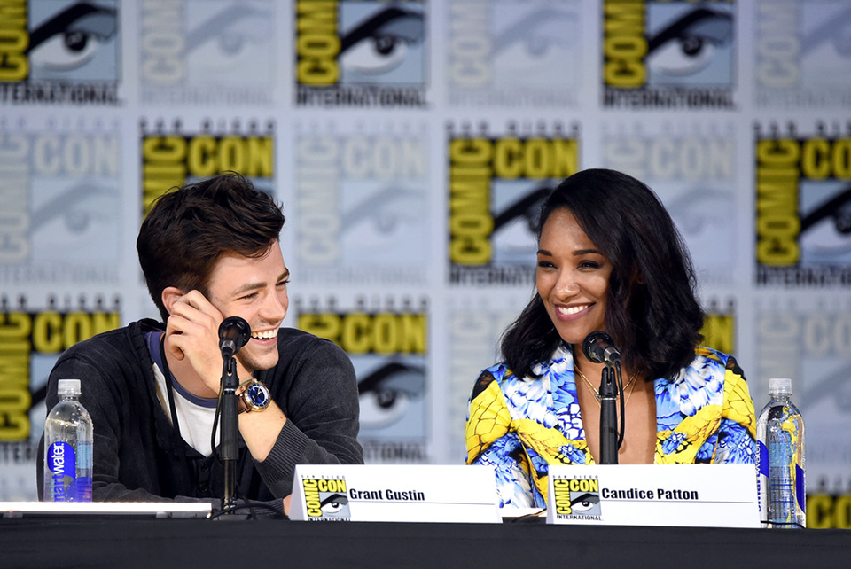 Grant Gustin és Candice Patton (The Flash)