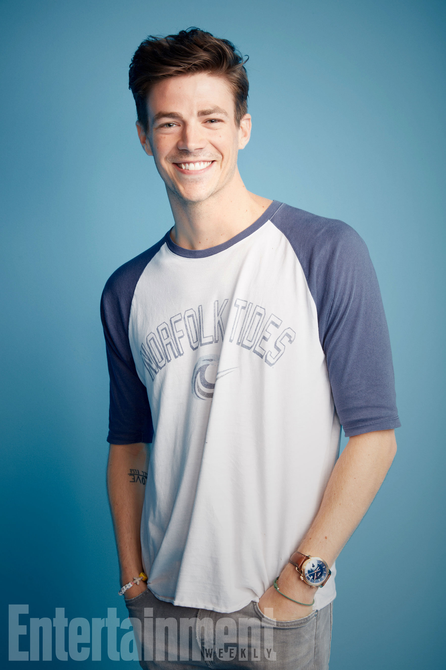 A The Flash sztárja, Grant Gustin