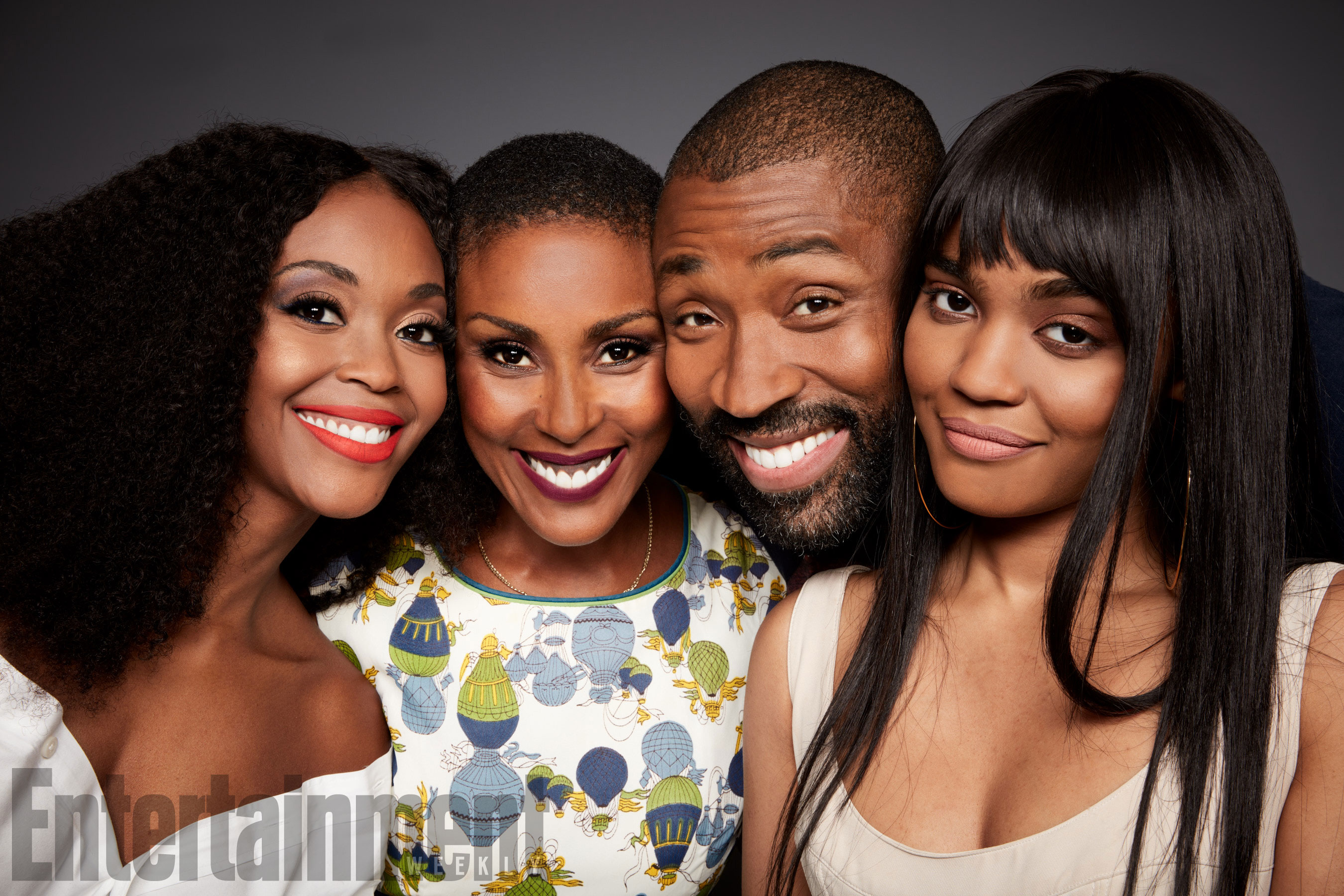 Nafessa Williams, Christine Adams, Cress Williams és China Anne McClain (Black Lightning)