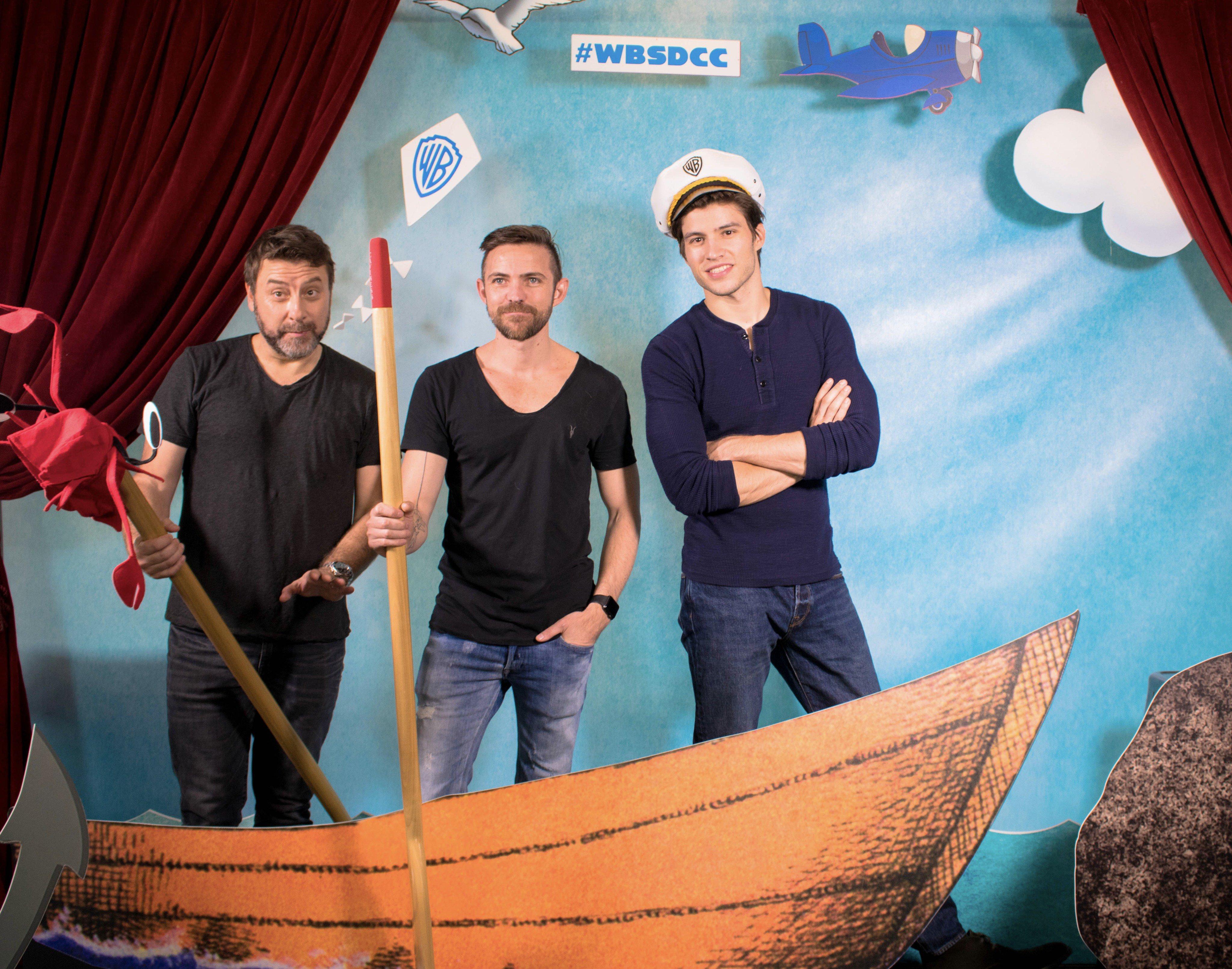A KRYPTON stábja kihajózott a szórakozás felé a Warner Bros. jachtjával a 2017-es Comic-Con szombatján, július 22-én.