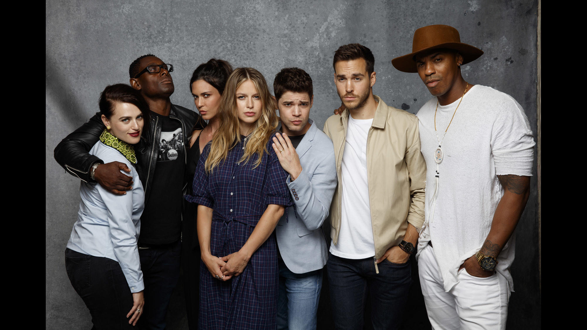 Katie McGrath, David Harewood, Odette Annable, Jeremy Jordan, Melissa Benoist, Chris Wood és Mehcad Brooks.