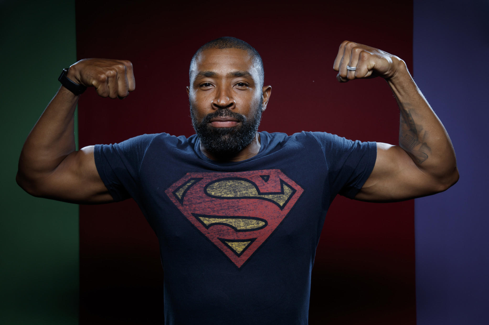 Cress Williams a 'Black Lightning' tévésorozatból.
