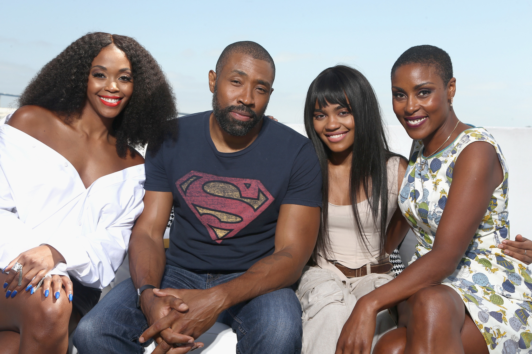 Christine Adams, Cress Williams, China Anne McClain és Nafessa Williams