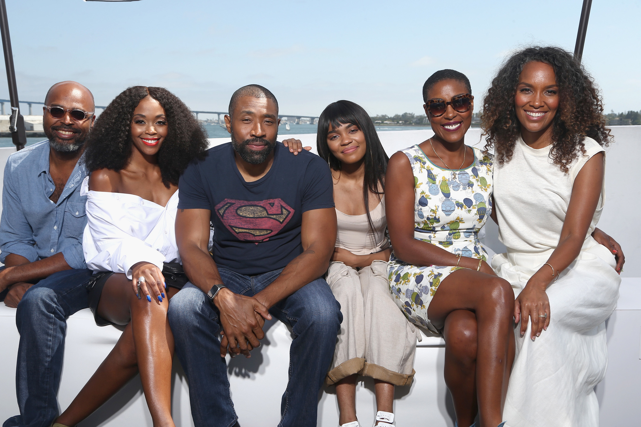 Christine Adams, Mara Brock Akil, Salim Akil, Cress Williams, China Anne McClain és Nafessa Williams