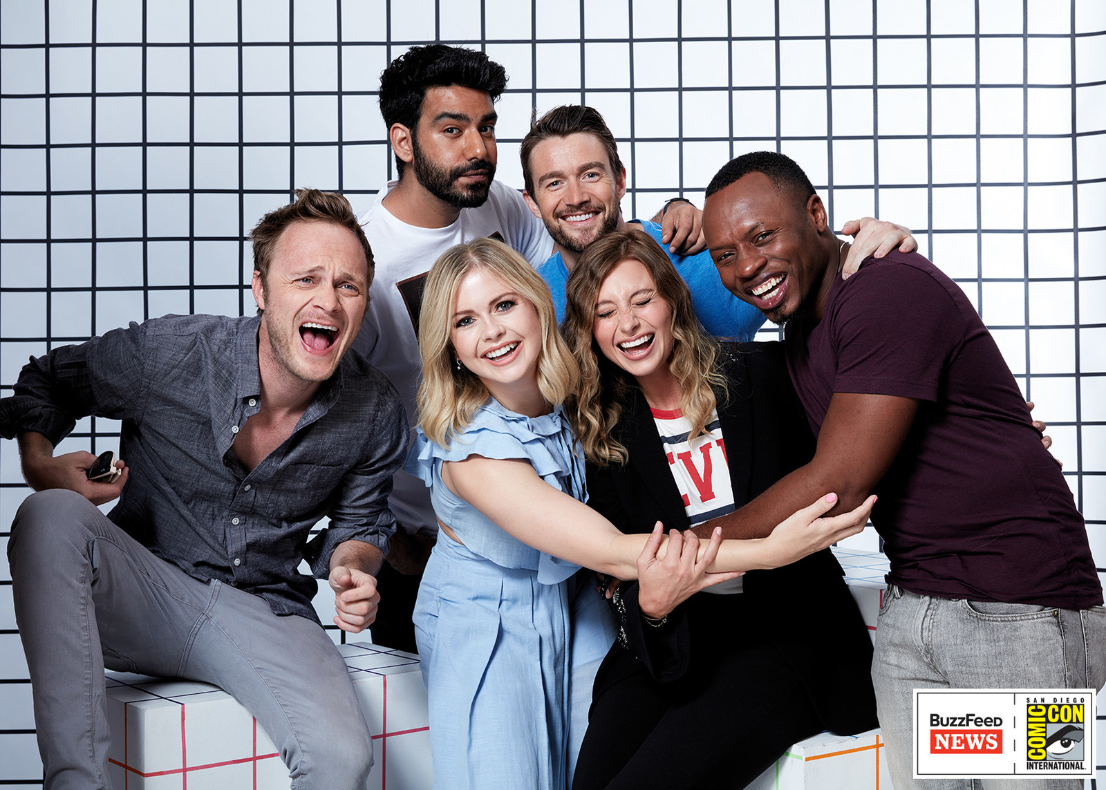 iZombie<br /><br />David Anders, Rahul Kohli, Rose McIver, Aly Michalka, Robert Buckley és Malcolm Goodwin.