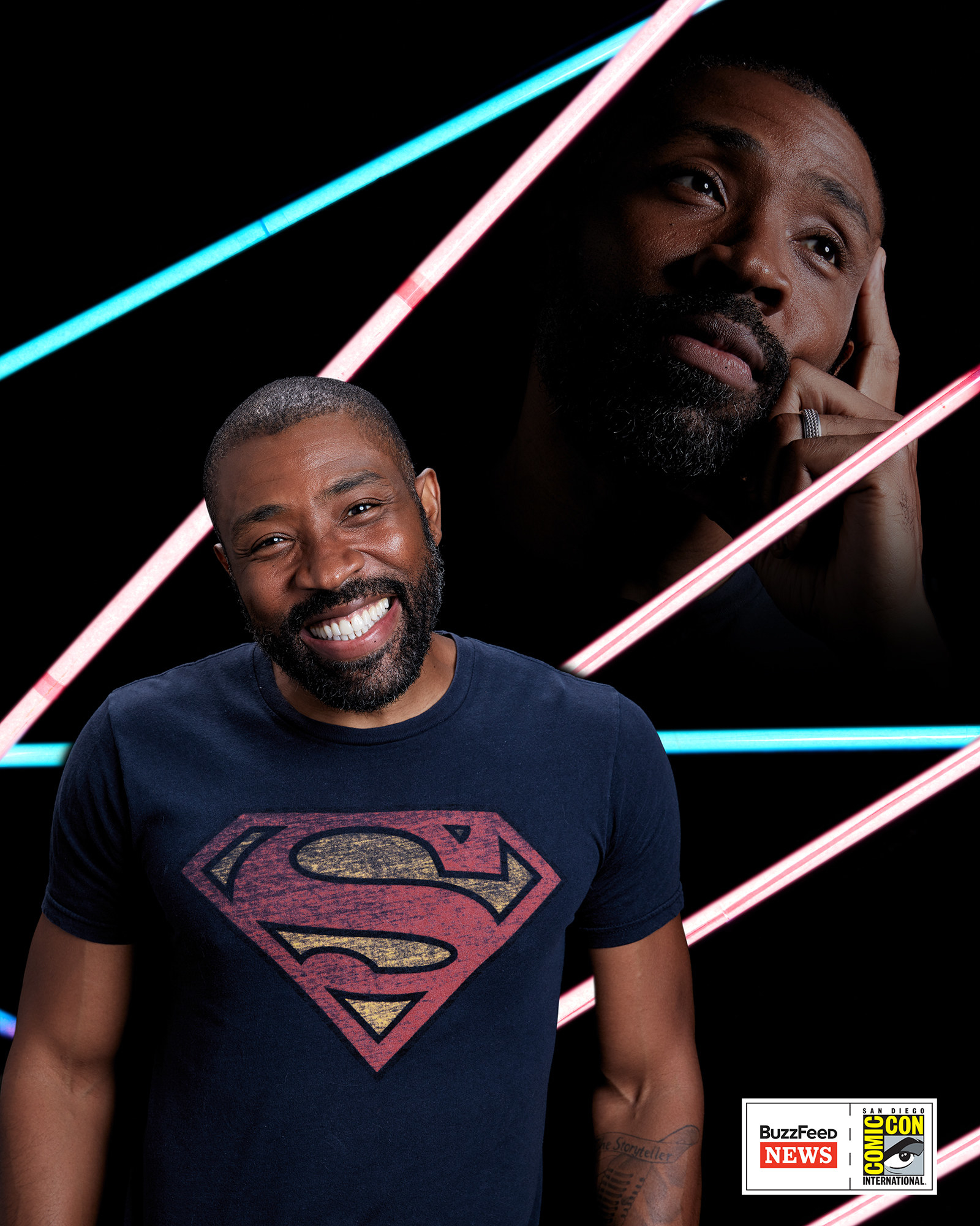 A Black Lightning sztárja, Cress Williams