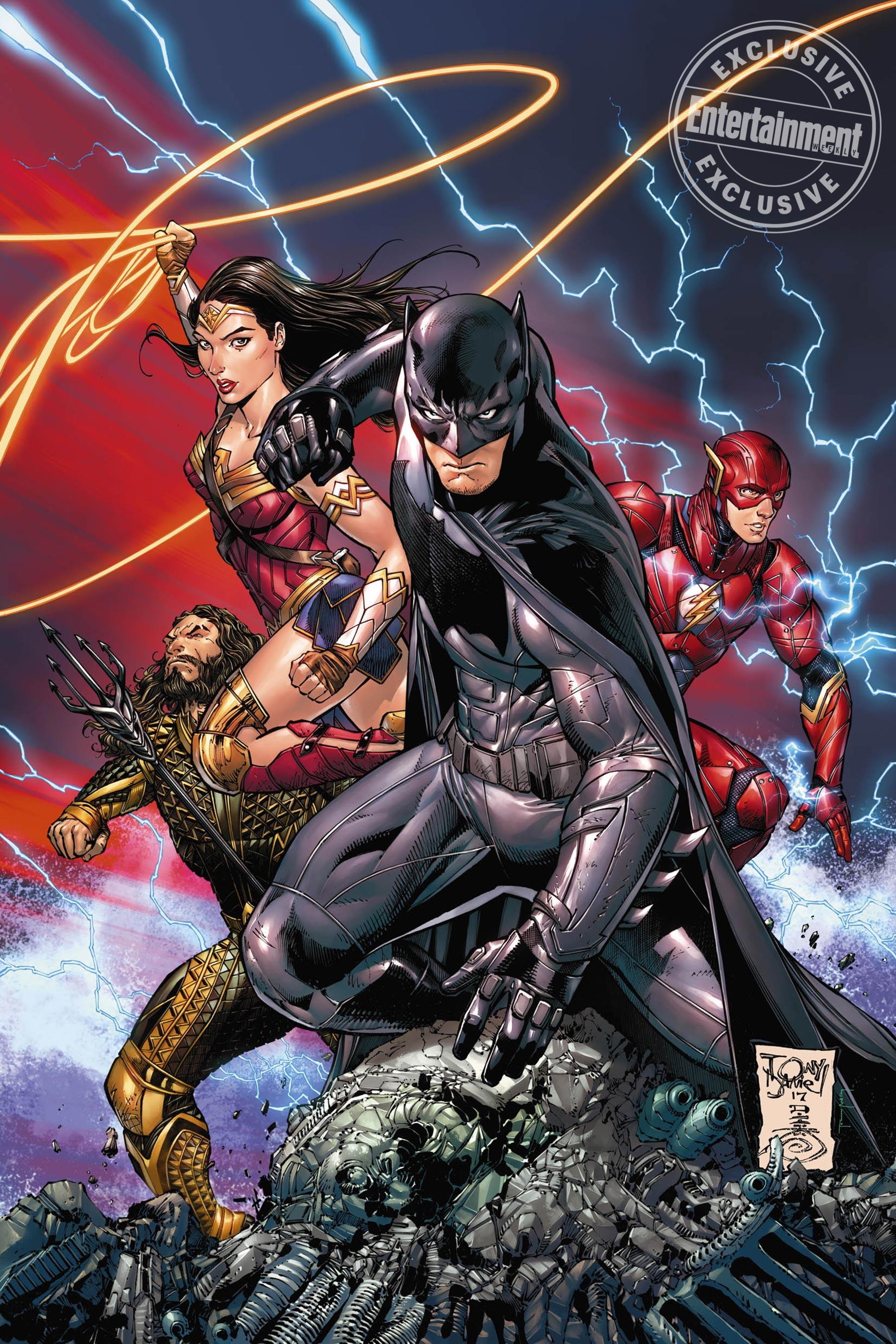 BATMAN #34 variáns borító, Tony S. Daniel munkája, november 1-jén jelenik meg