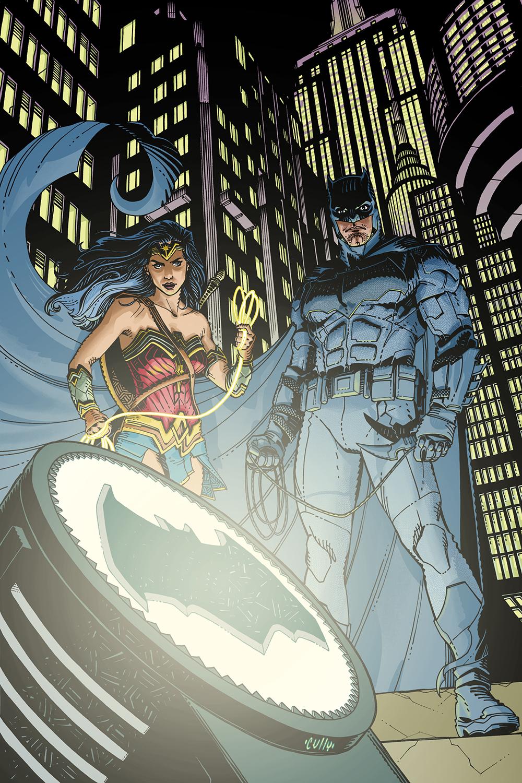 DETECTIVE COMICS #968 variáns borító, Cully Hamner munkája, november 8-án jelenik meg