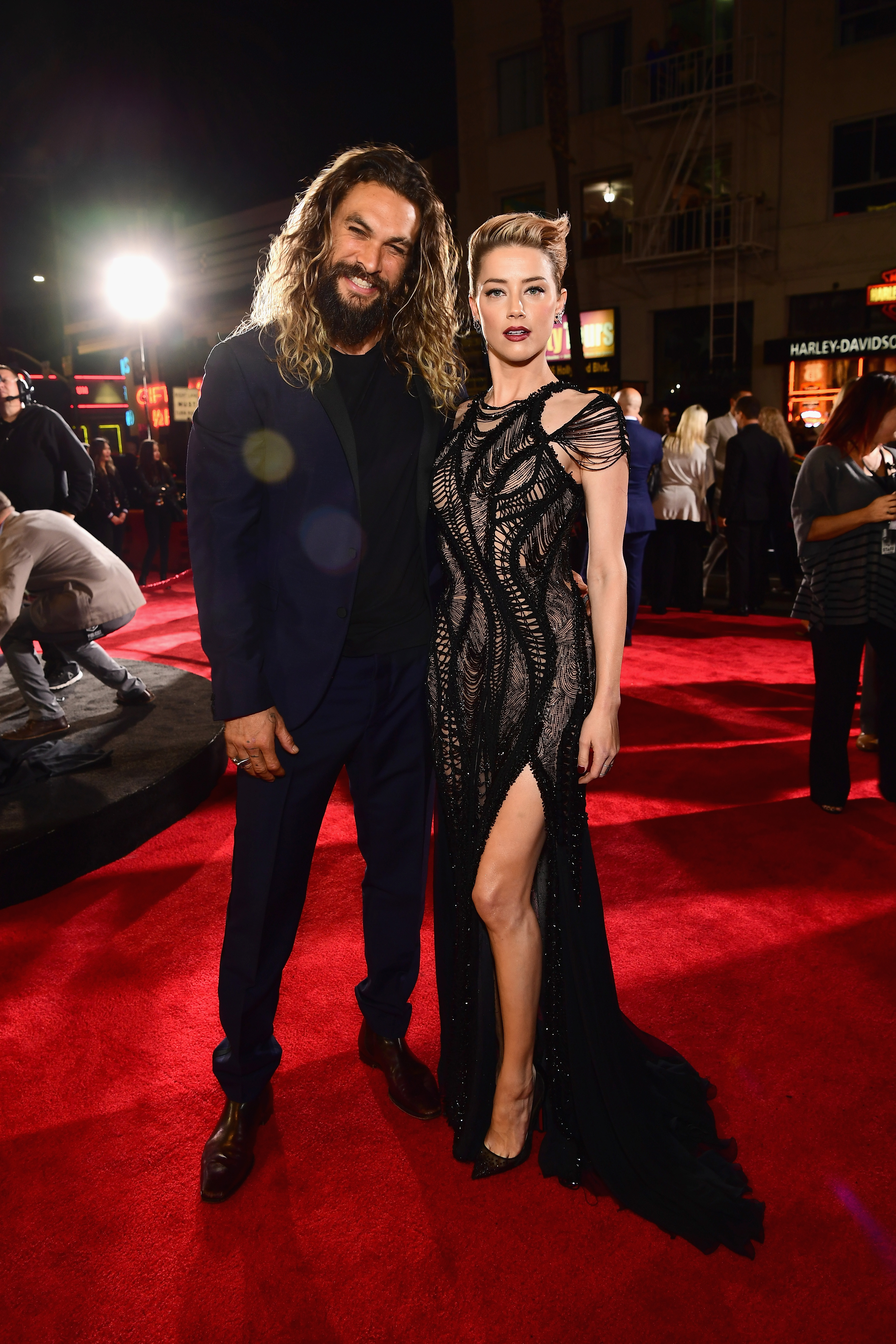 Jason Momoa és Amber Heard