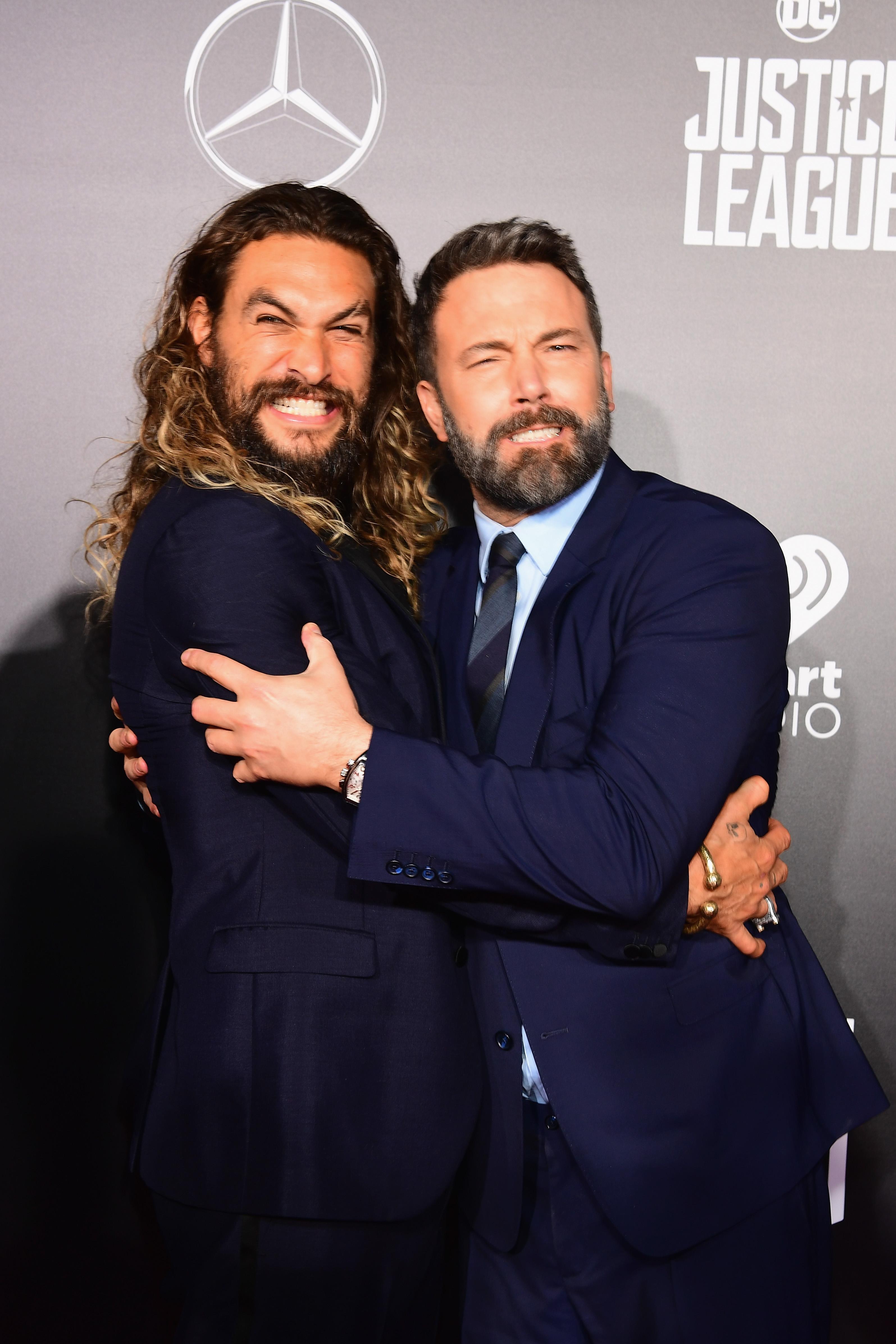 Jason Momoa és Ben Affleck