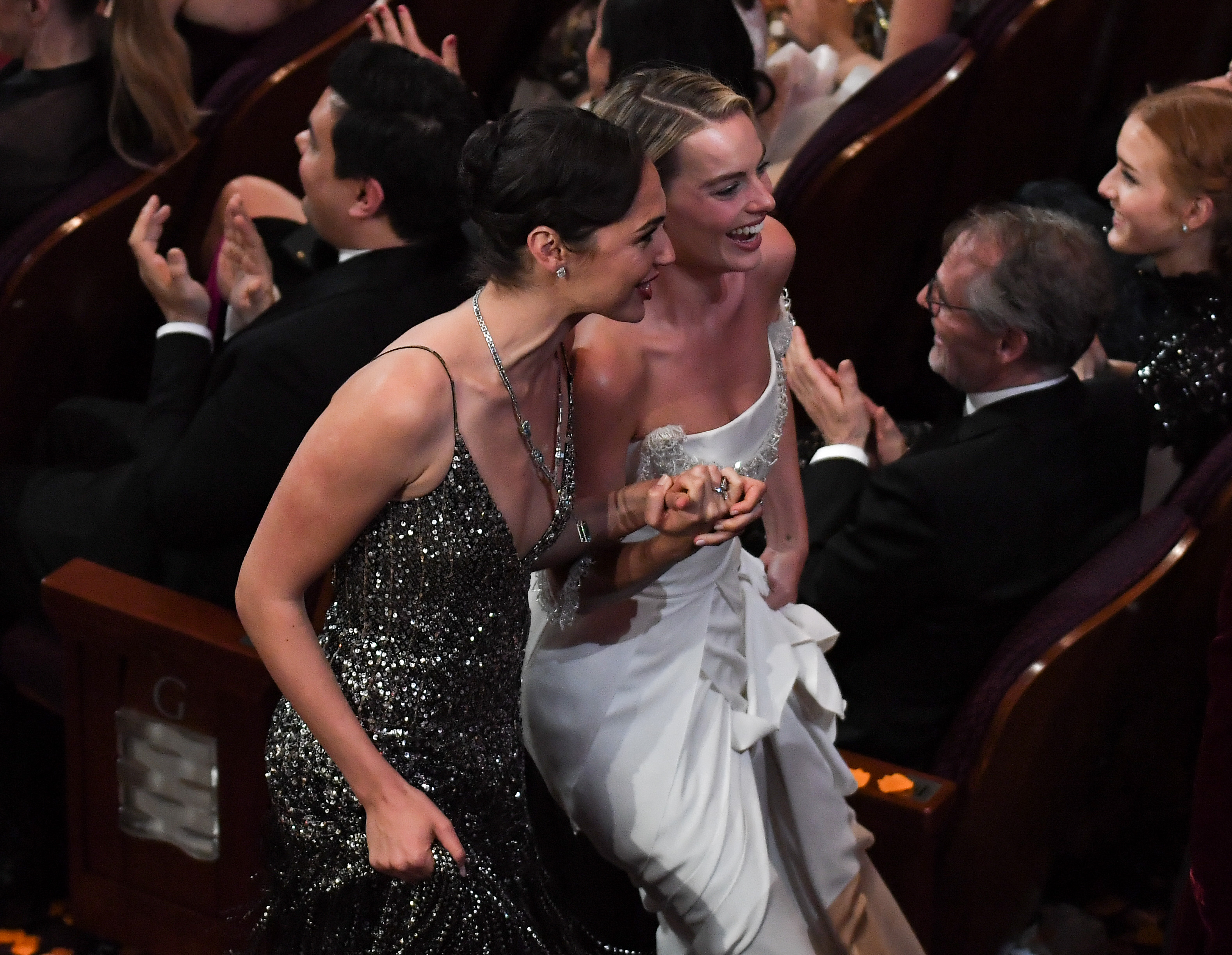 Gal Gadot és Margot Robbie