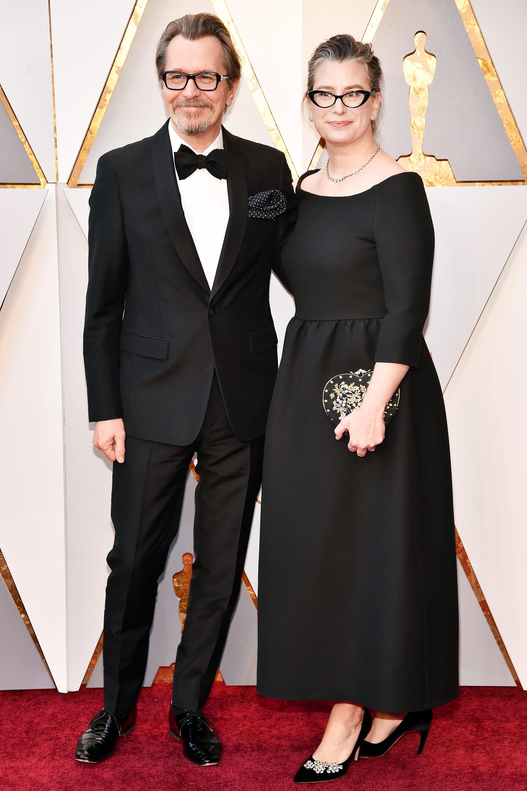 Gary Oldman és felesége, Gisele Schmidt