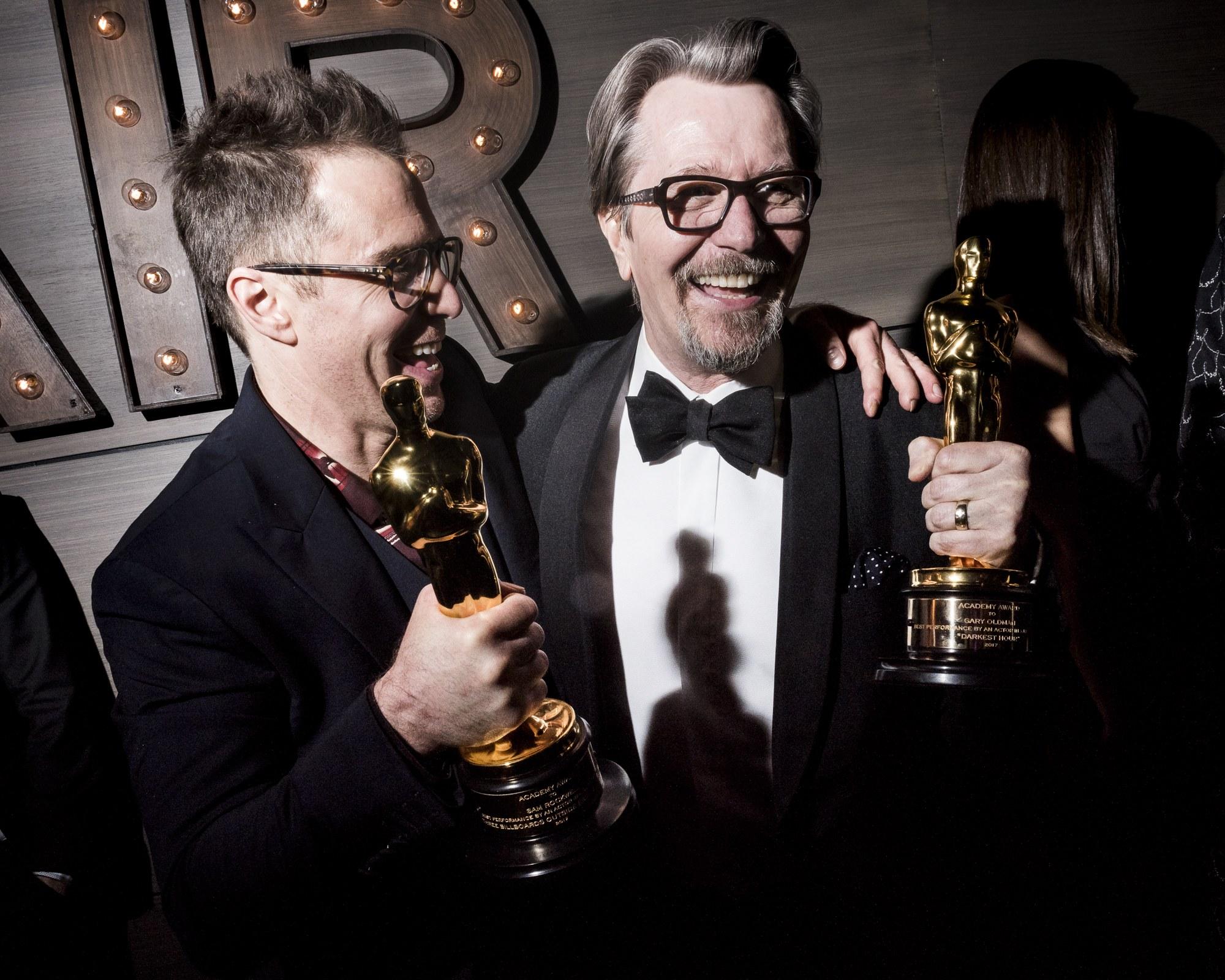 Friss Oscar-díjas színészurak (Sam Rockwell és Gary Oldman)
