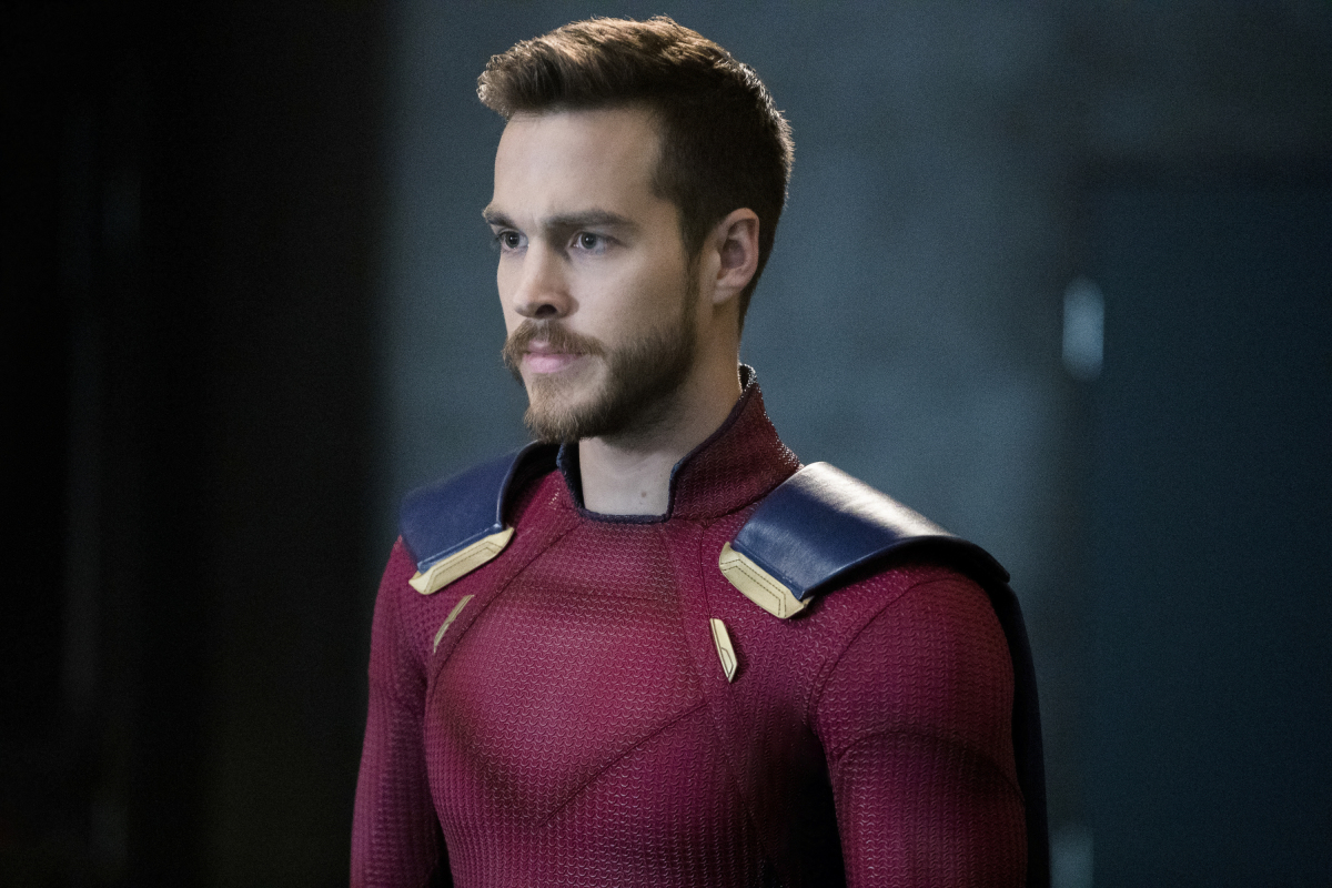 Supergirl -- 'In Search of Lost Time' -- Image Number: SPG315b_0123.jpg -- Pictured: Chris Wood as Mon-El -- Photo: Jack Rowand/The CW -- © 2018 The CW Network, LLC. All Rights Reserved.
