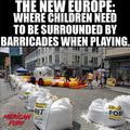 Az új Európa, ahol a gyerekek kordonok mögött játszanak