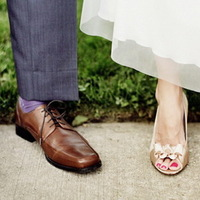 Bohókás esküvői lábbelik