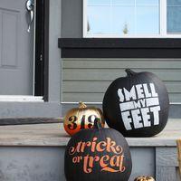 Halloween partykellékek