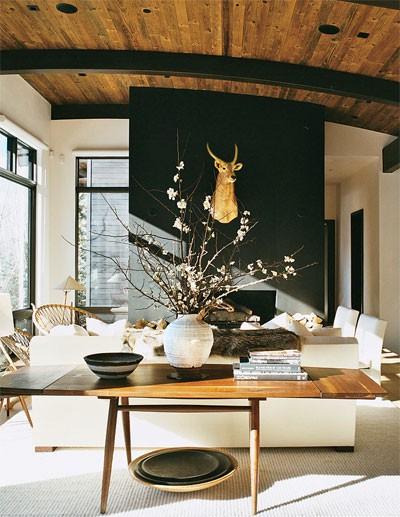Olcs n t s otthont fekete falak dekooder st lusra - Alpen dekoration ...