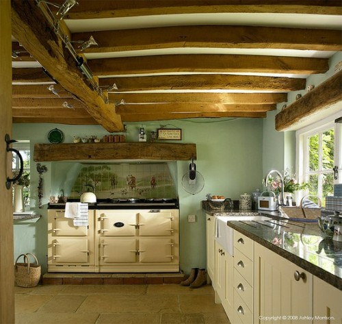 Country kitchen blue kitchen daydreams pinterest for English country kitchen designs