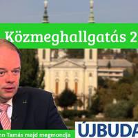 Közmeghallgatás Újbudán – 2014, avagy kérdezz bátran Hoffmann Tamástól
