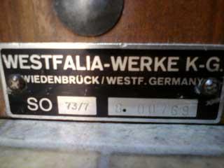 Westfalia werke