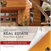 Maryland Real Estate Practice & Law Books Pdf File