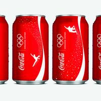 Coca-Cola téli olimpiai csomagolása