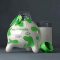 A tőgybe csomagolt növényi tej