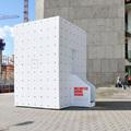 Hordozható városi erdő dobozban