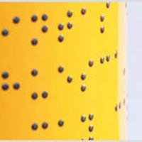 Borcímke Braille-írással
