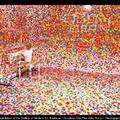 Japán művész: egy hófehér szoba eltüntetése