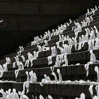 Öko-horror: 1000 olvadó jégember Berlinben
