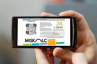 """Miskolc Pass, az """"okoskártya"""""""