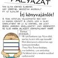 ÍRJ KÖNYVAJÁNLÓT!