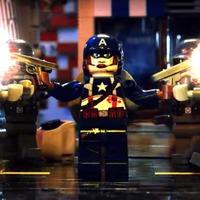 Amerika kapitány náci zombikat öl minden idők legerőszakosabb LEGO-filmjében